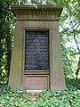 Johann Jakob Baader-Rudin (1810–1879) Politiker und Arzt. Familiengrab, ref. Kirche Gelterkinden (1).jpg