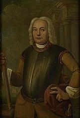 Portrait of Johannes Thedens (1680-1748). Gouverneur-generaal (1741-43)