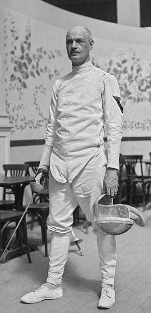 John Albaret - John Albaret at the 1922 European Championships