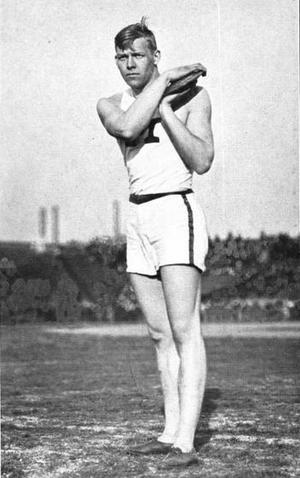 John Garrels - Garrels holding discus