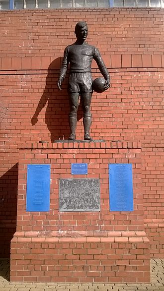 1971 Ibrox disaster - John Greig statue in remembrance of the victims of the Ibrox disasters.