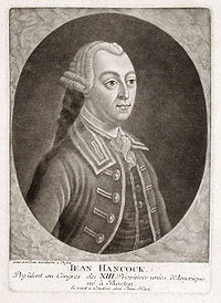 John Hancock, c. 1776