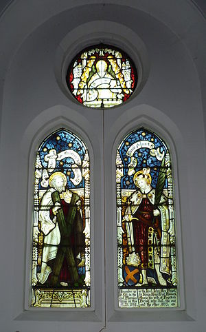 John Hey Puget - The Puget window at St Andrew's church, Totteridge.