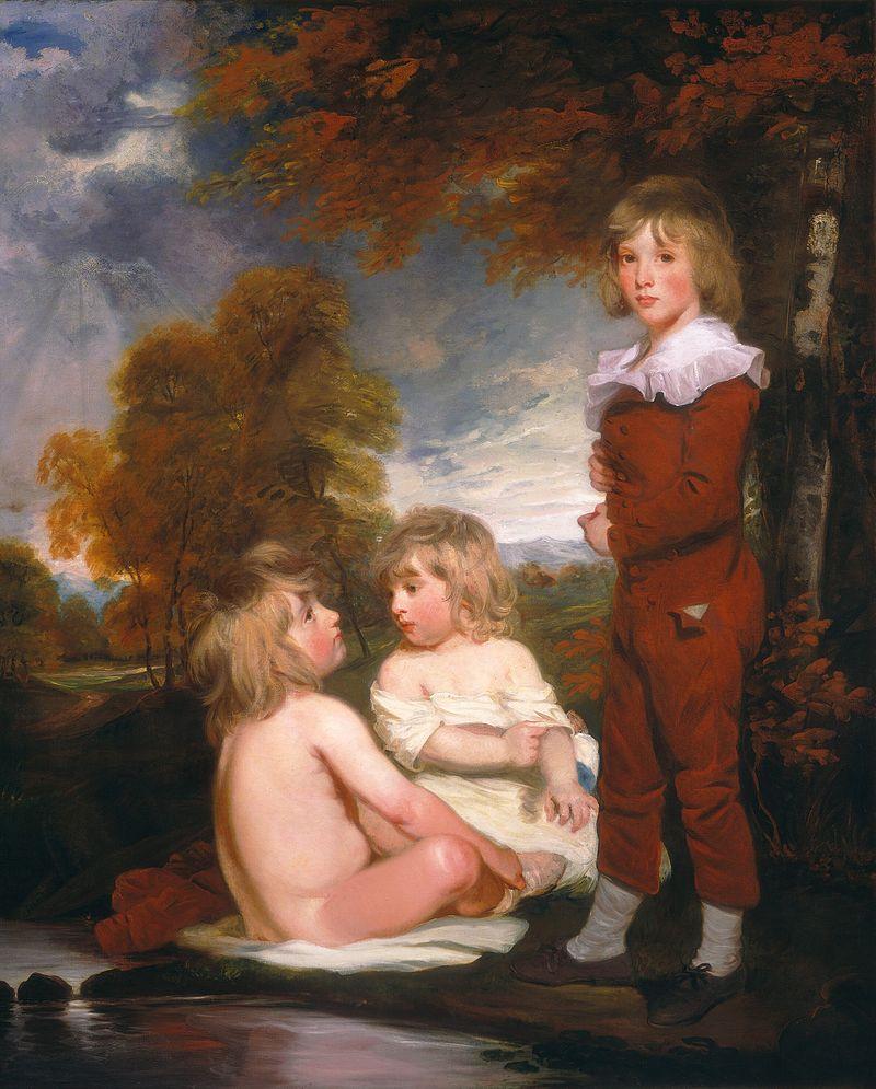 John Hoppner - The Hoppner Children (1791).jpg