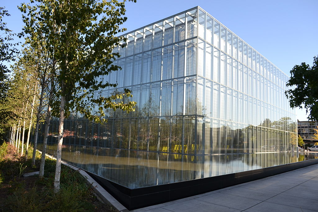 File john jaqua center eugene oregon jpg wikimedia for Architects eugene oregon