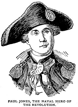 John Paul Jones, naval hero