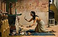 John Reinhard Weguelin – The Obsequies of an Egyptian Cat (1886).jpg