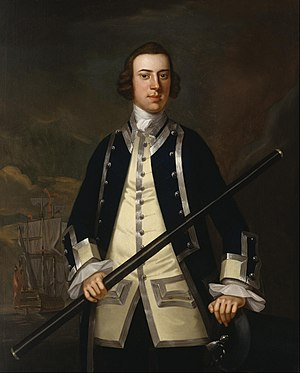 Augustus Keppel, 1st Viscount Keppel - 1747-1751 portrait by John Wollaston
