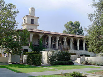 Northeast Los Angeles - Johnson Student Center and Freeman College Union at Occidental College.