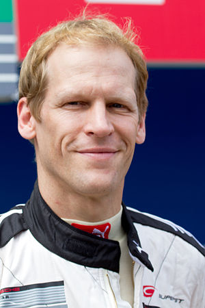 Jörg Bergmeister - Bergmeister at the 2014 Super GT Suzuka 1000km.