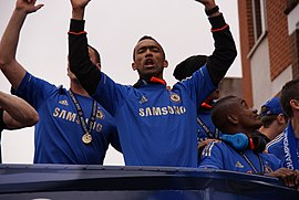 Jose Bosingwa Champions League Winner parade.jpg