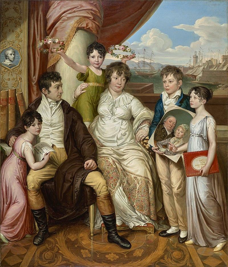 Josef Abel - Die Familie des Großhändlers Johann Christian Edler von Bruchmann - 5660 - Österreichische Galerie Belvedere.jpg