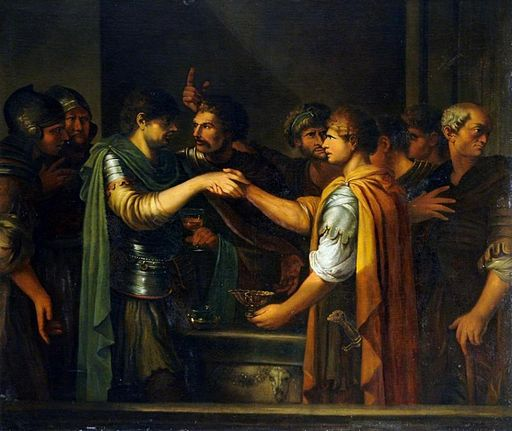 Joseph-Marie Vien - The Oath of Catiline