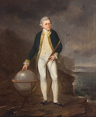Captain Cook on the coast of New South Wales