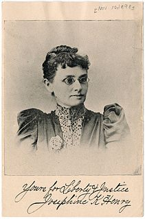 Josephine Henry Kentucky suffragist and civil rights
