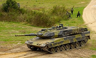 Danish Defence - Leopard 2 A5 main battle tank