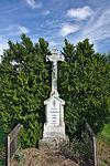 Kříž u silnice k místní části Vaculka, Sebranice, okres Blansko.jpg