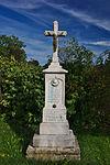Kříž vedle zvonice, Bačov, Boskovice, okres Blansko.jpg
