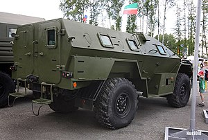 BPM-97 - BPМ-97 at Russian Expo Arms 2009 in Nizhny Tagil