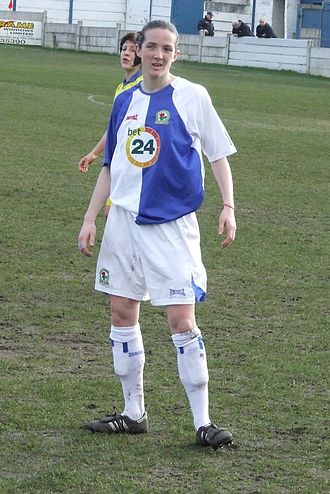 Blackburn Rovers L.F.C. - Record goalscorer Katie Anderton
