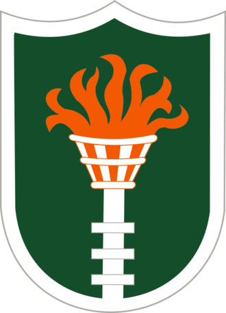 Korean Communications Zone - Shoulder Sleeve Insignia