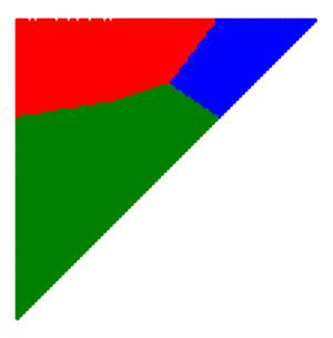 Knaster–Kuratowski–Mazurkiewicz lemma - Image: KKM example