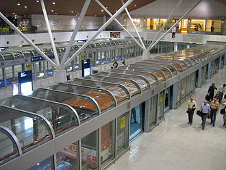 Bombardier Innovia APM - Aerotrain at Kuala Lumpur International Airport.