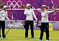 KOCIS Korea London Olympic Archery Womenteam 12 (7682350412).jpg