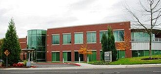KPTV - KPTV's studios and offices near Sunset Highway.