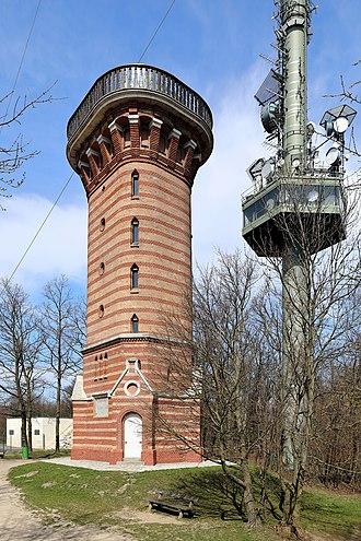 Kahlenberg - Stefaniewarte and steel tower