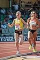 Kalevan Kisat 2018 - Women's 5000 m - Johanna Peiponen, Kristiina Mäki.jpg