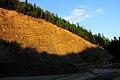Kamieniołom piaskowców istebniańskich, Rabe koło Baligrodu. Drobny. - panoramio.jpg