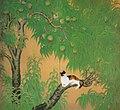 Kaneda Kazuo Katze auf dem Pfirsichbaum.jpg