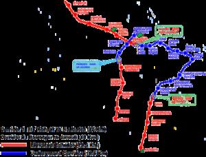 Lucknow Metro Map.Kanpur Metro Wikipedia