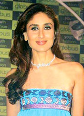 Kareena Kapoor smiling at the camera