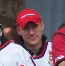 Karel Rachůnek, Czech ice hockey team 2010.jpg