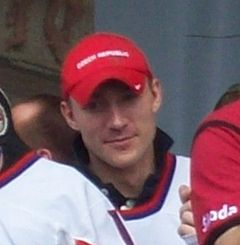 Karel Rachůnek, Czech ice hockey team 2010.jpg