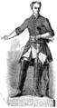 Karl XII, staty i marmor av Johan Niclas Byström (ur Svenska Familj-Journalen 1864).png