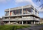 Das Sitzungssaalgebäude des Bundesverfassungsgerichts im Karlsruher Schlossbezirk
