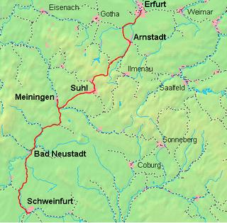 Schweinfurt–Meiningen railway