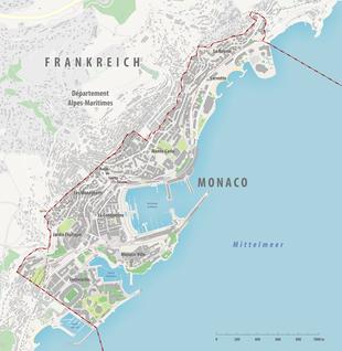 Monaco Italien Karte.Monaco Wikipedia