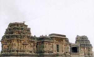 Kasivisvesvara Temple, Lakkundi - Image: Kasivisvesvara temple at Lakkundi