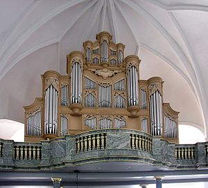 Katarina Church - The van den Heuvel pipe organ