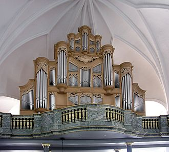 Katarina Church - The van den Heuvel pipe organ