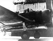 Kate B5N1 Akagi dummy torpedo