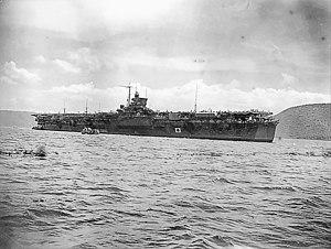 Unryū-class aircraft carrier - Image: Katsuragi (AWM 099798)