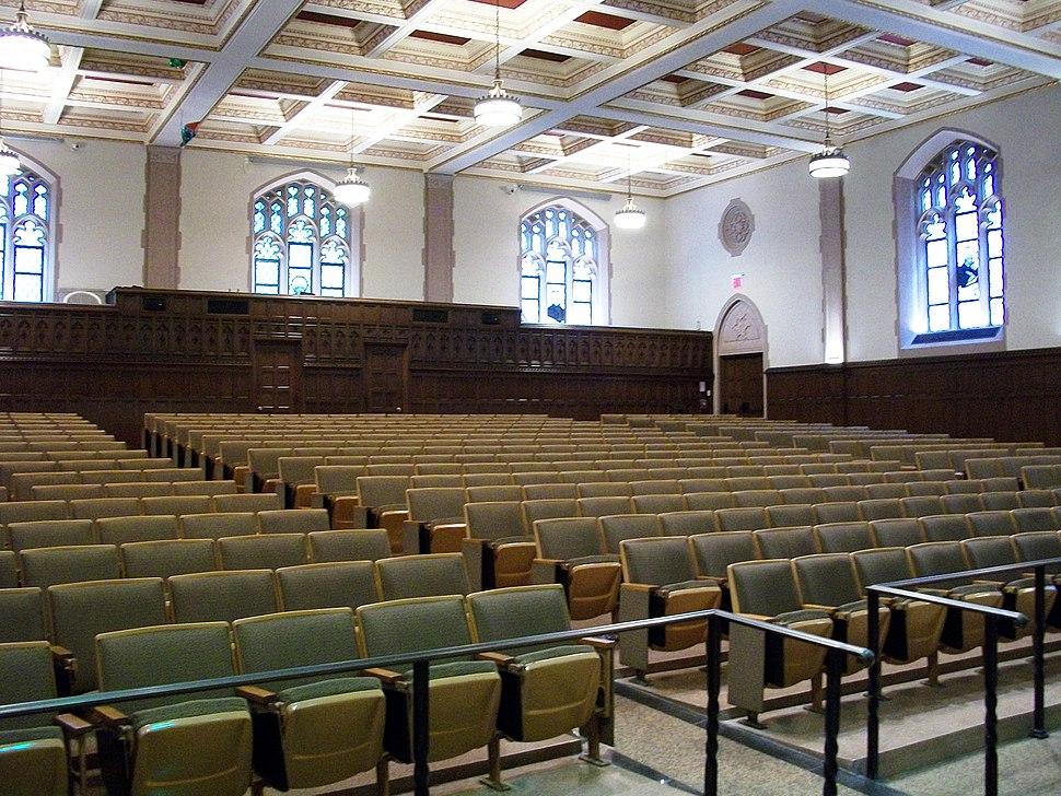 Keating first floor auditorium