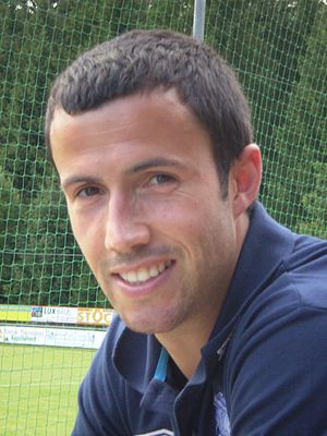 Keith Fahey - Fahey during pre-season with Birmingham City in July 2009
