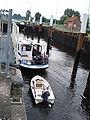 Keldonk (N-Br, NL), Zuidwillemsvaart, sluis met boot.JPG