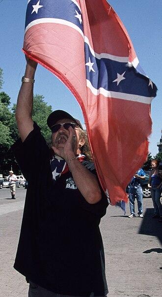 Bandidos Motorcycle Club - Wayne Kellestine protests against the London Ontario's gay pride parade in 2005.